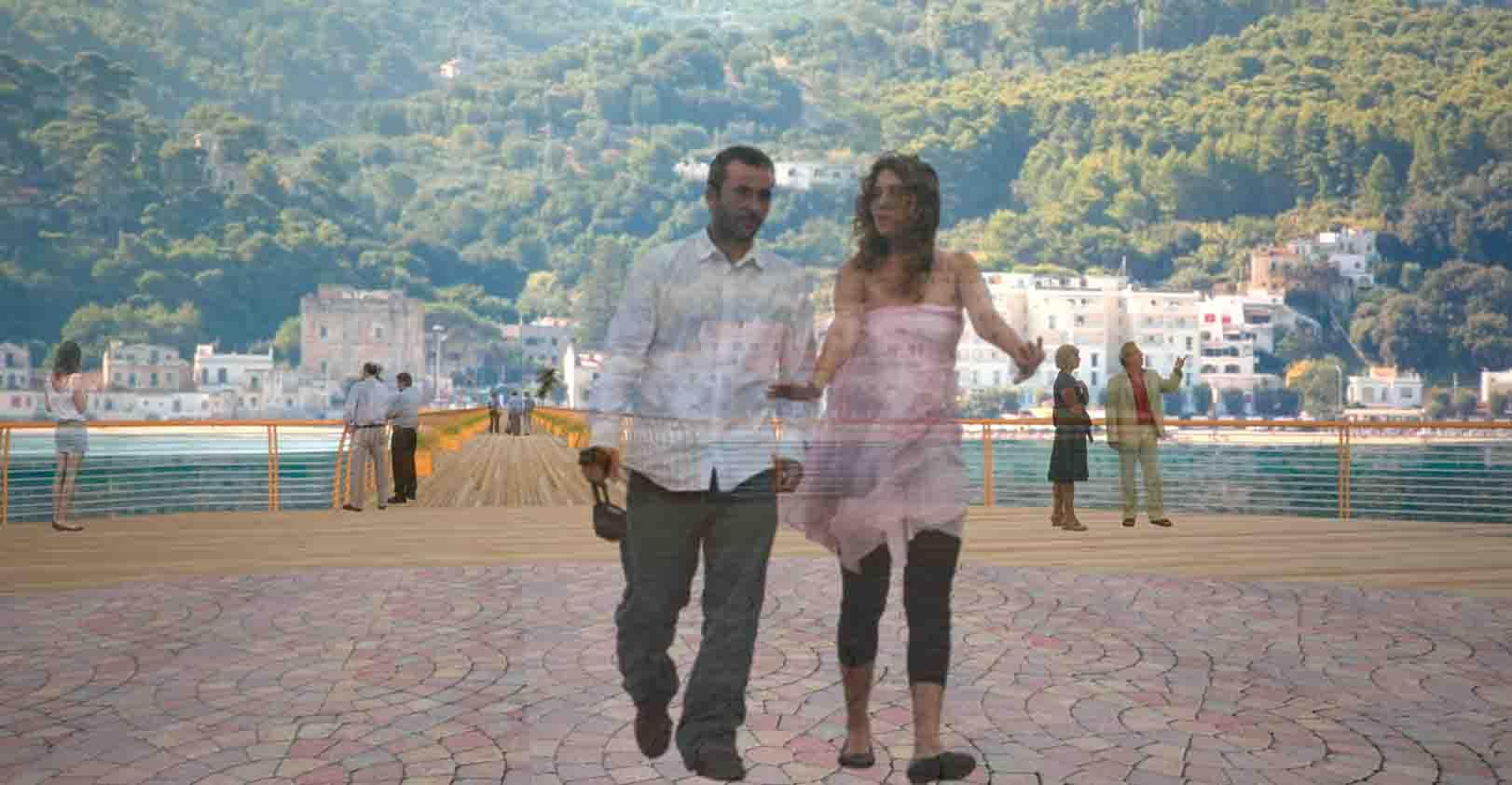 Palestra Vico Del Gargano progettazione pontile a mare – san menaio, vico del gargano